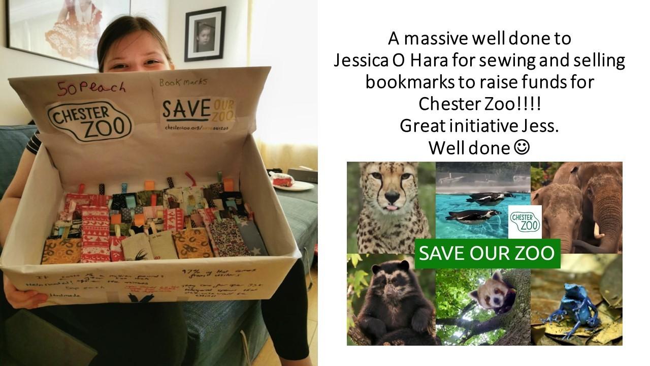 Jess o hara zoo charity