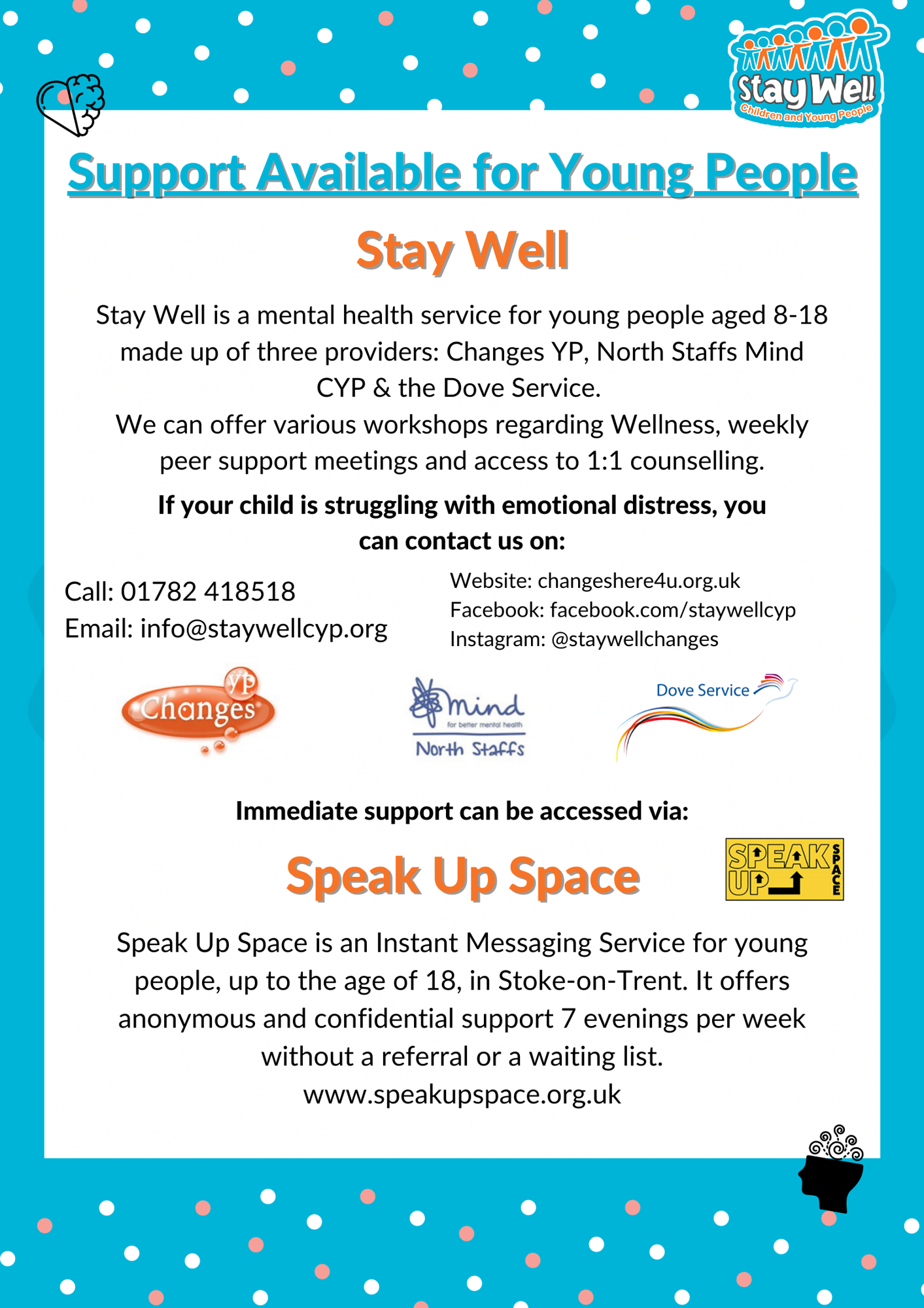 Stay well support for young people