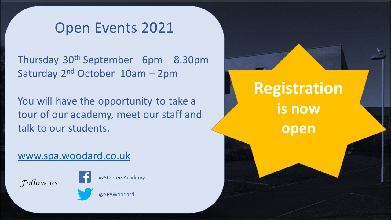 Open events registration open