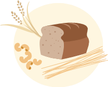 Harvest bread picture
