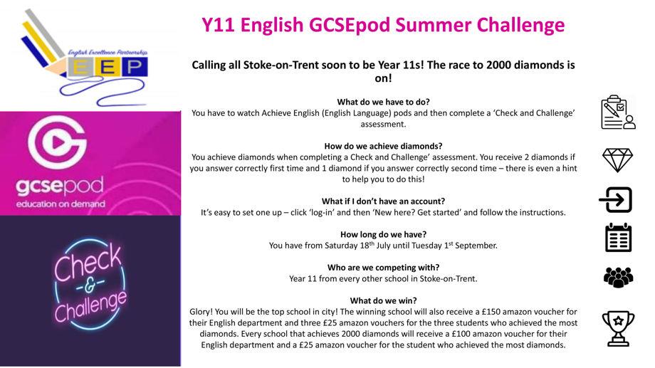 Y11 gcsepod summer challenge 1