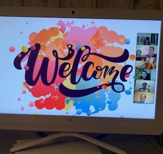 Photo welcome of event
